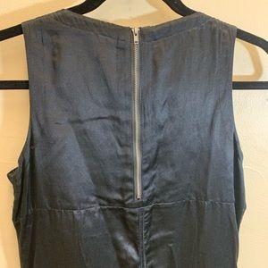 See By Chloe Dresses - See by Chloe black fringe sleeveless satiny dress